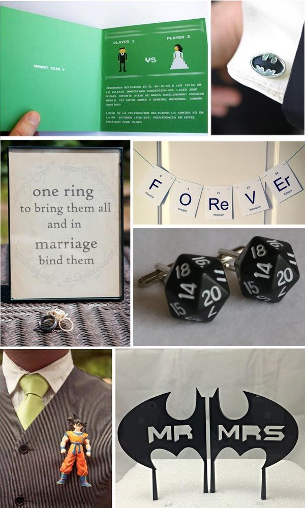 Matrimonio Geek - Geek wedding ideas