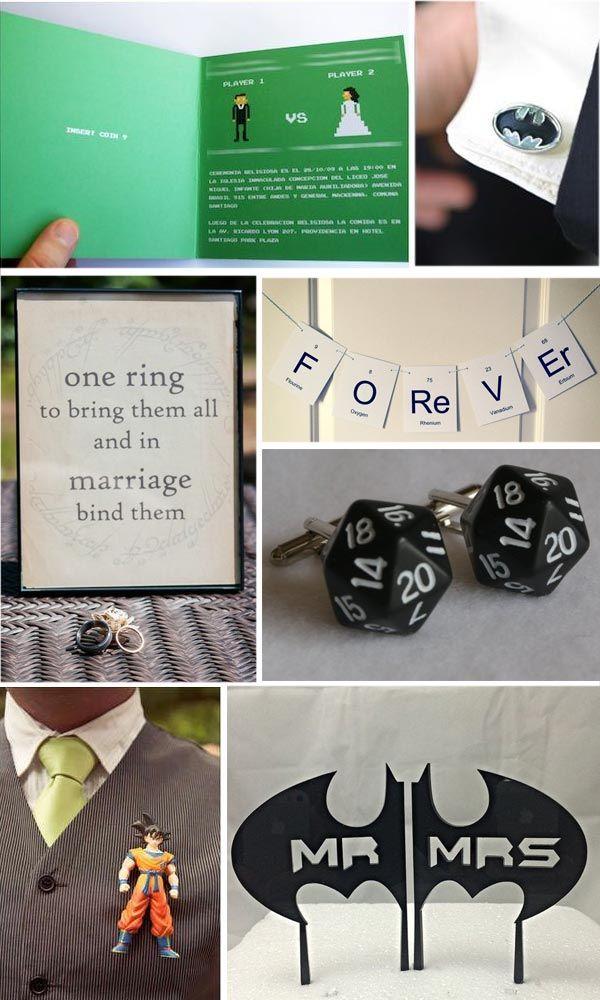 Matrimonio Geek - Geek wedding ideas