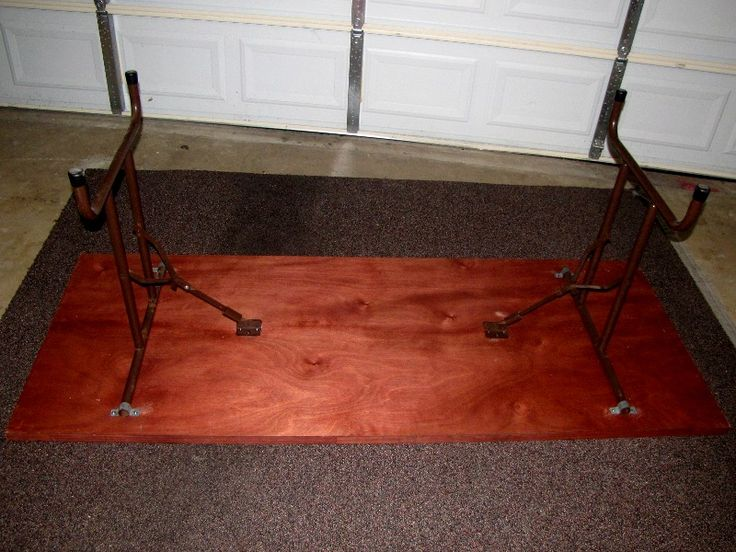 25 best ideas about folding table legs on pinterest for Fold up nail table