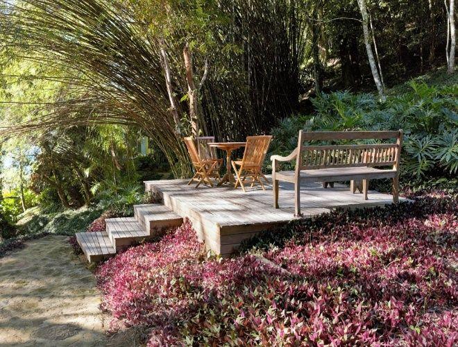 bancos de jardim no rs:criação de cantos para o descanso e a apreciação da paisagem, no