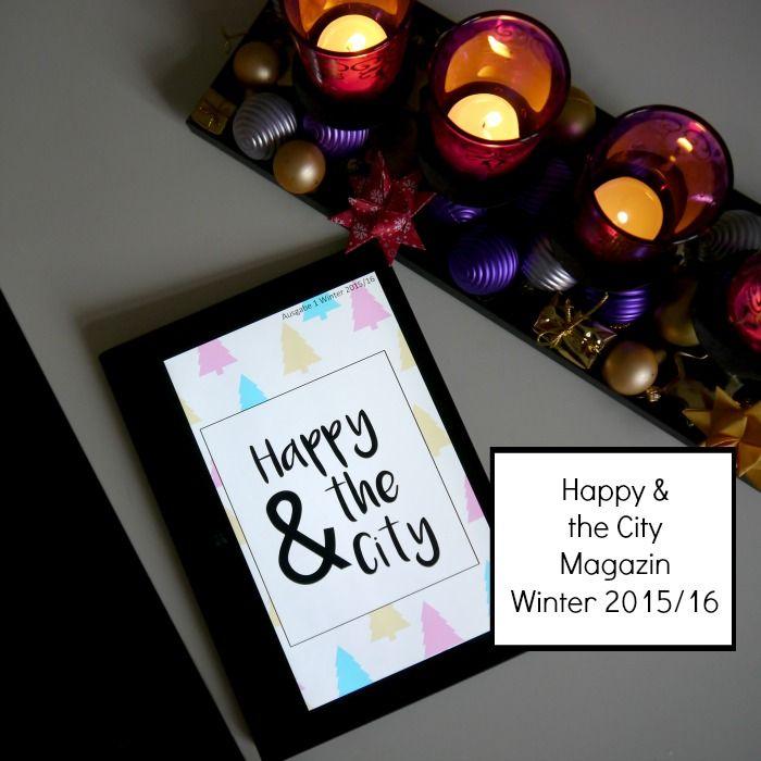 Die erste Ausgabe des Happy and the City Glücksmagazins ist online. Das Online Magazin für alle die nach jeder Menge Glück und Happiness suchen.