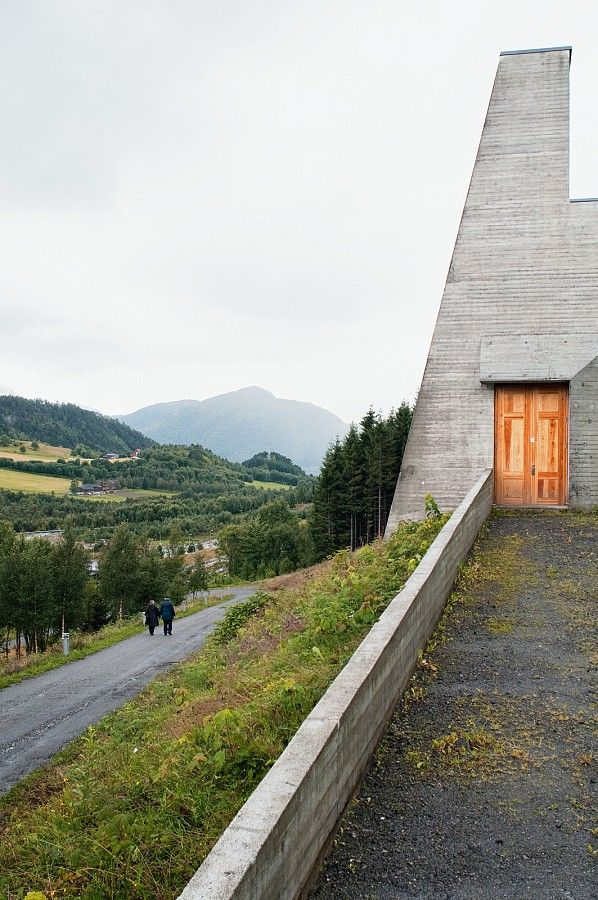 architecture norway | The Ivar Aasen Centre by Sverre Fehn