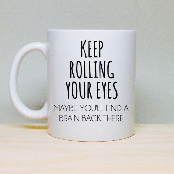 Secretary Christmas Gift Ideas Part - 24: Funny Coffee Mug - Unique Gift Idea - Funny Gift Idea - Coffee Loveru0027s Mug  - Office Gift - Secretary Gift - Boss Gift - Birthday Gift Idea