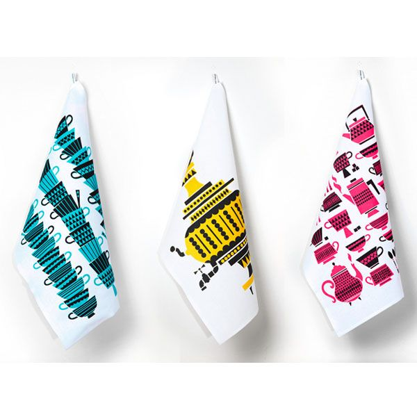 Santsi tea towel - Kitchen Textiles - Kitchenware - Finnish Design Shop