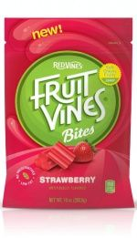 Fruit Vines Bites from American Licorice Company #packaging