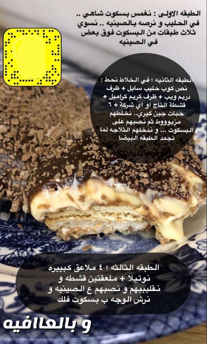 Pin By Jumana Elberry On وصفات حلى صينية Food Desserts Foodie