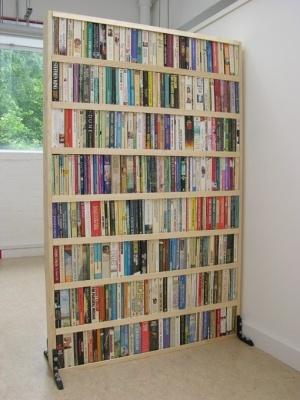 Portable Book Partition