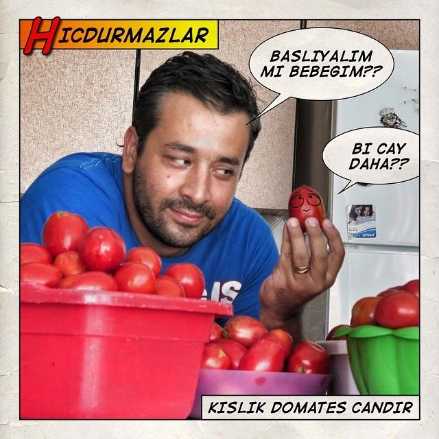 kışlık domates işi tamamdır #babalarvekizlari
