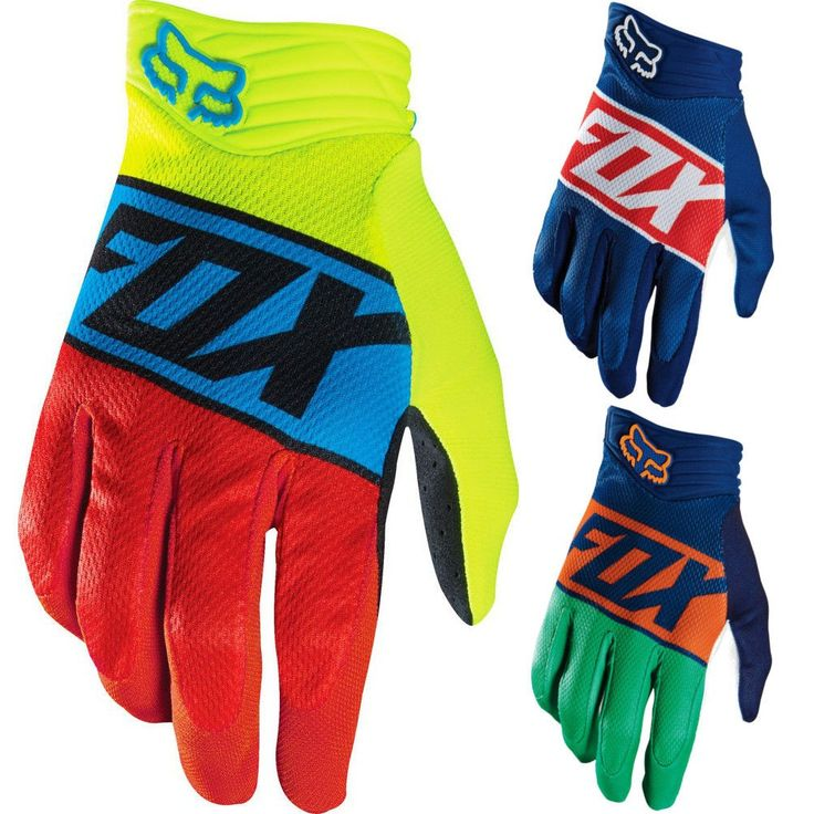 Fox Racing Divizion Airline Mens Off Road Dirt Bike Motocross Gloves