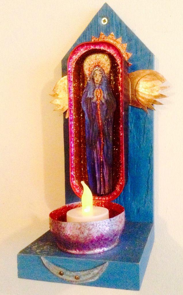 Goddess Shrine, Wakefield Artist Tim Burton.
