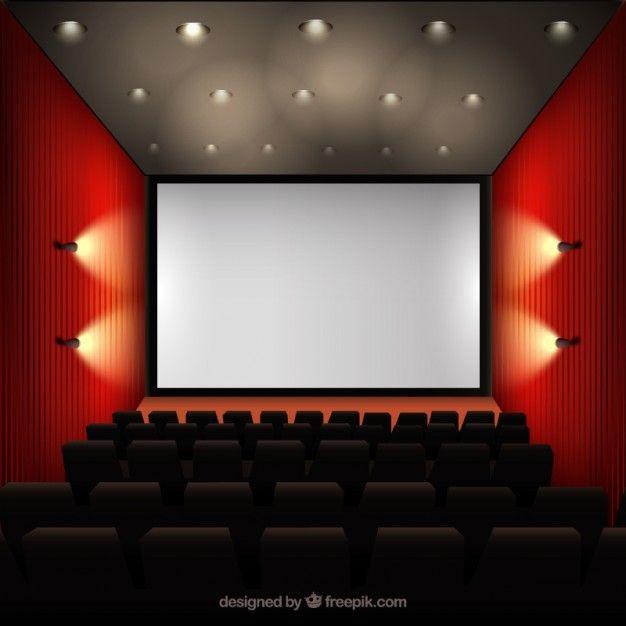 Cinema-interior - Freepik-Invitations-Pin-92