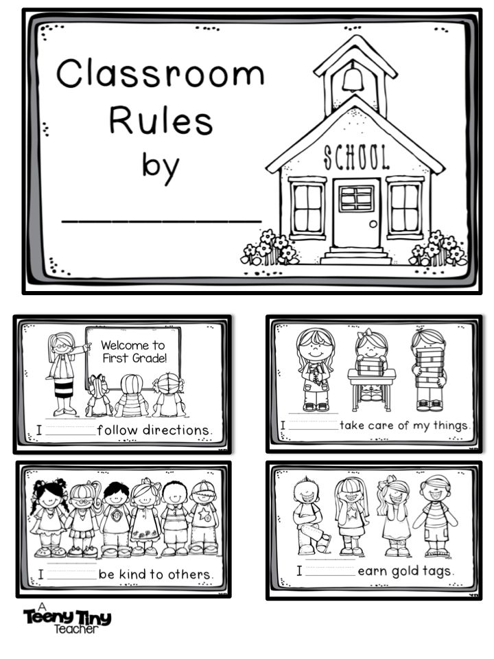 Classroom Rules Clipart Black And White Free - Clip Art ...