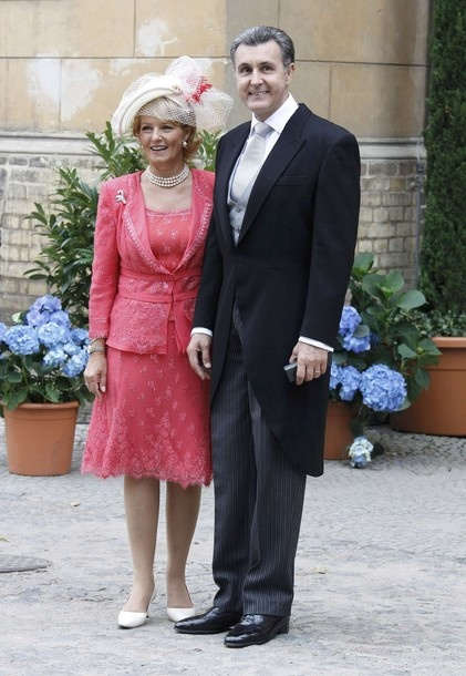 Crown Princess Margarita of Romania and Prince Radu of Romania