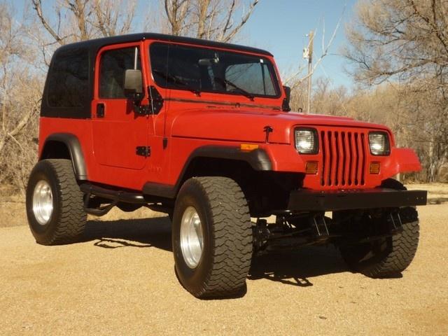 1990 jeep wrangler red scoresense. Black Bedroom Furniture Sets. Home Design Ideas