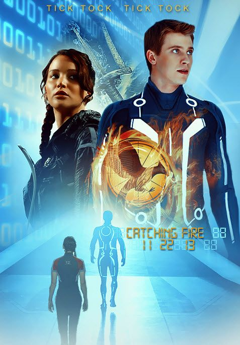 The Hunger Games Catching Fire Poster Concept
