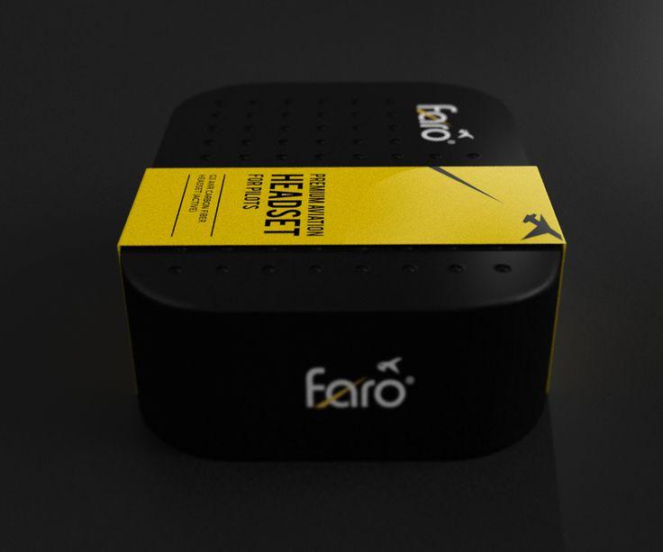 Faro Headset | Package Design by attilakamasz