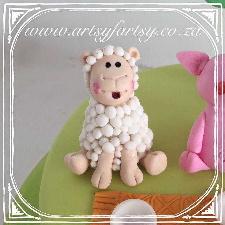 Sheep Sugar Figurine #sheepsugarfigurine