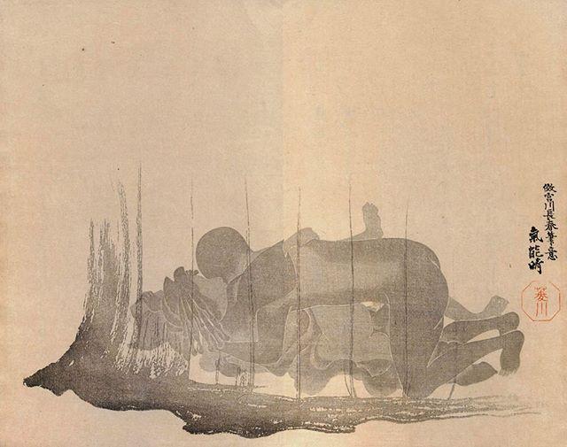 Shadow painting 4 華月帖というこの春画はすべての絵が影で表現されています逆にエロい 1836年