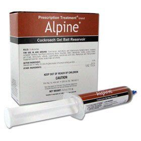 Alpine CockRoach Gel Bait 4(30 gram) Tubes by Alpine. $36.29. Alpine Cockroach Gel Bait makes it easier than ever to show your customers you're controlling their roach problems and minimizing their health and allergy risk. With the Reduced Risk* active ingredient dinotefuran and a formulation free from the Big 8 Allergens, it's a smart choice for today's health and environmentally conscious customers.