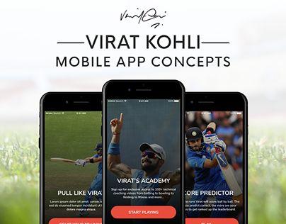 "Check out new work on my @Behance portfolio: ""Virat Kohli - Sports App with Run Predictor"" http://be.net/gallery/59342281/Virat-Kohli-Sports-App-with-Run-Predictor"