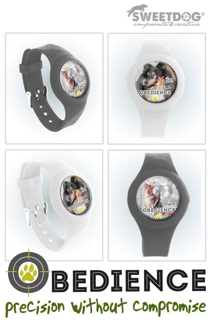 Personalized dog watches - Orologi personalizzati -   Obedience Watches - Emma & Phoebe