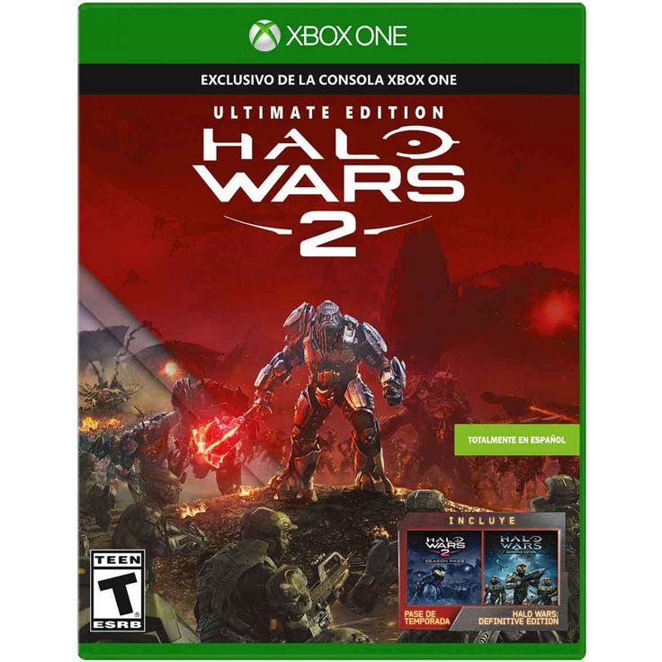 Xbox One Halo Wars 2 Ultimate Edition; un enemigo completamente nuevo amenaza el universo de Halo y lo único que está entre el Armagedón y la humanidad es el coraje de la tripulación dentro del Spirit of Fire. Halo Wars 2 para Xbox One ofrece un juego de