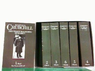 der zweite weltkrieg von Winston Churchill 6 Bände von NSB Verlag