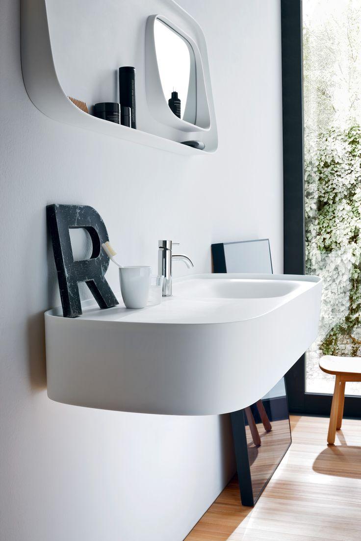 """""""R"""" for relax - Fonte, design by Monica Graffeo #rexa #design #bathroom #bath"""