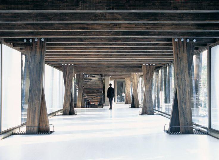 en detalle cortes estructuras de madera