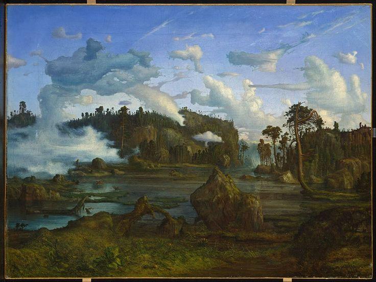 Lars Hertervig, The Tarn; 1865