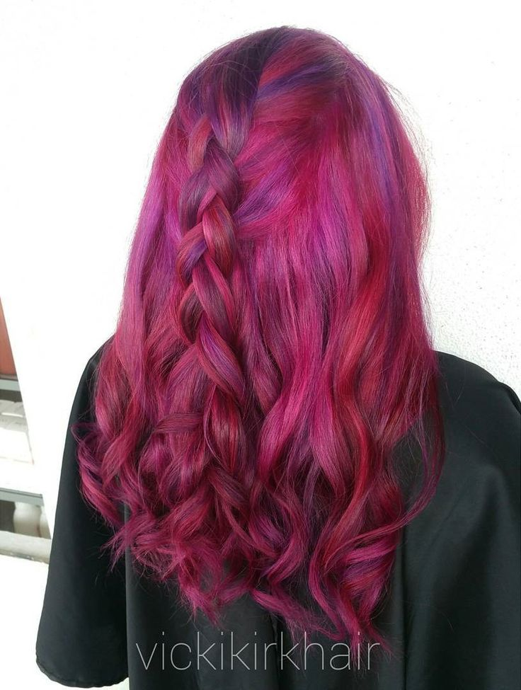 Colors Of Purple Hair
