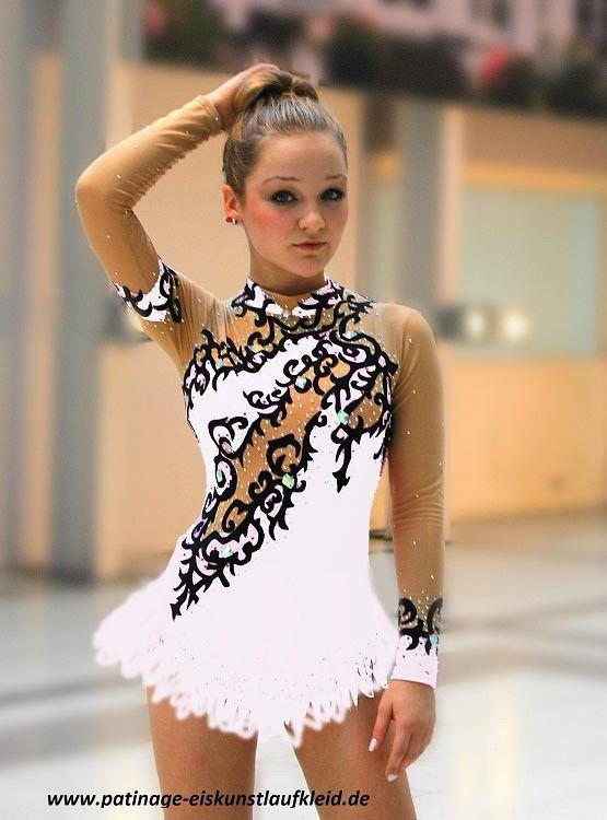 * nuevo * Hielo Patinaje Artístico Vestido Roller / 4 6 8 10 12 14 16 S M L Xl