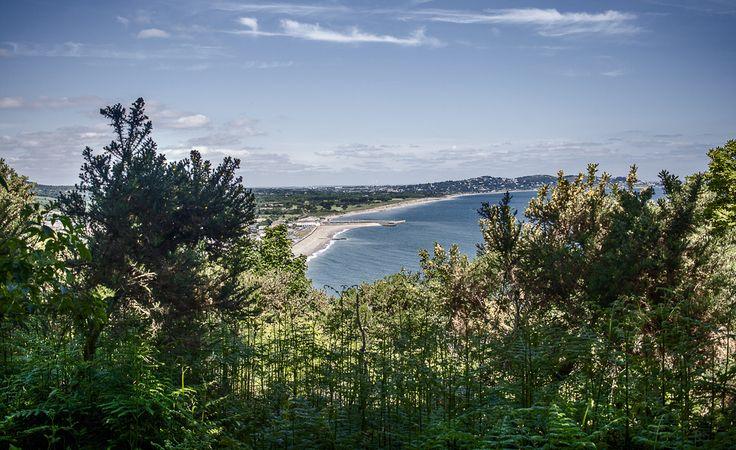 view from Bray Head, Ireland