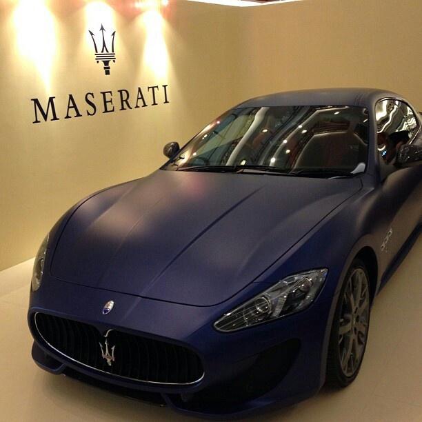 Matte Maserati