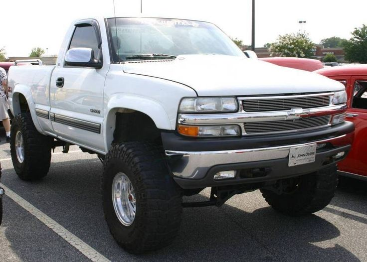 Chevrolet Silverado nicely Lifted Truck