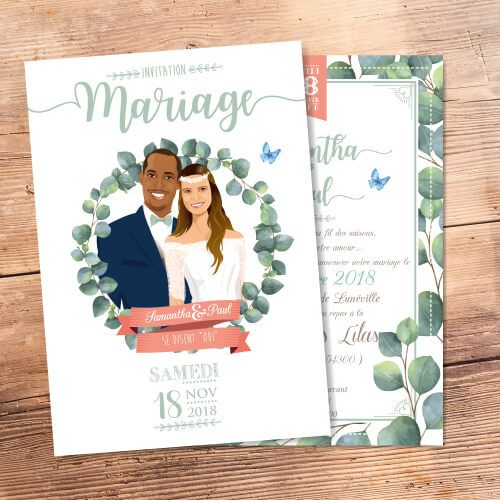 31 best faire part de mariage nature champ tre country save the date wedding card images on