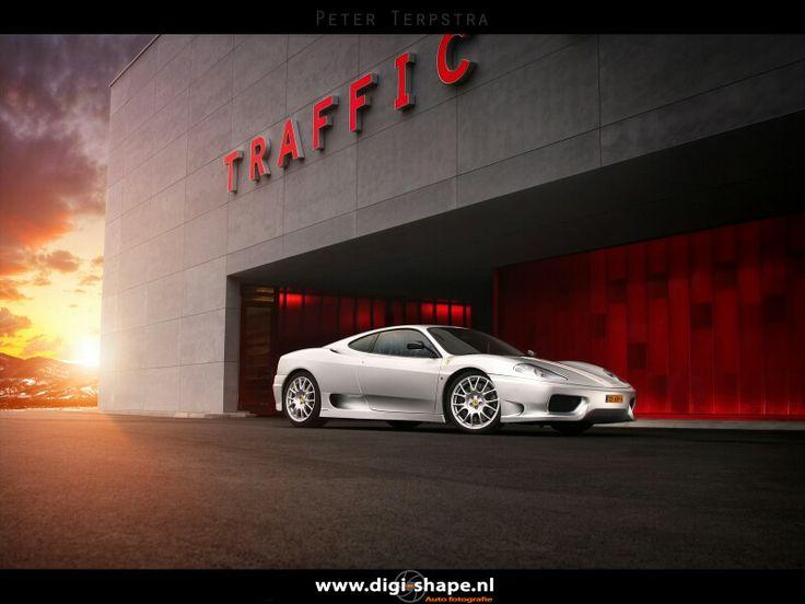 Ferrari Challenge Stradale,  Zwolle,  The Netherlands in august 2012.