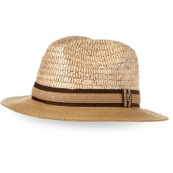 Tommy Bahama Braided Wide Brim Fedora ($30) ❤ liked on Polyvore featuring men's fashion, men's accessories, men's hats, white, mens fedora hats, men's brimmed hats, mens wide brim hats, mens white fedora hat and tommy bahama mens hats