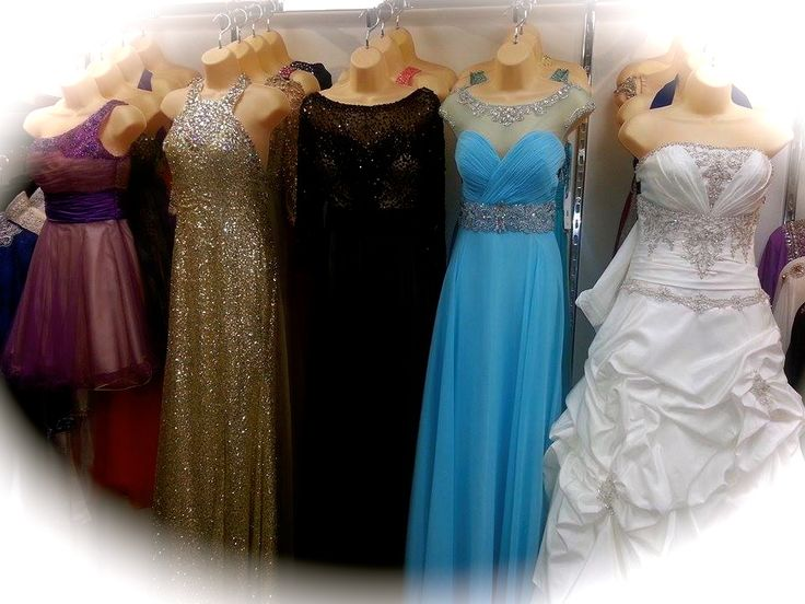 Amazing collection of Brand name (JOVANI, TONY BOWLS, TERANI, MORRAL MAXIE Just to Name a Few !!!!!) evening gowns, bridal gowns, Nikah dresses, prom dresses ...... and much more, which is 50-60% OFF its original price.