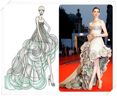Versace fashion sketches