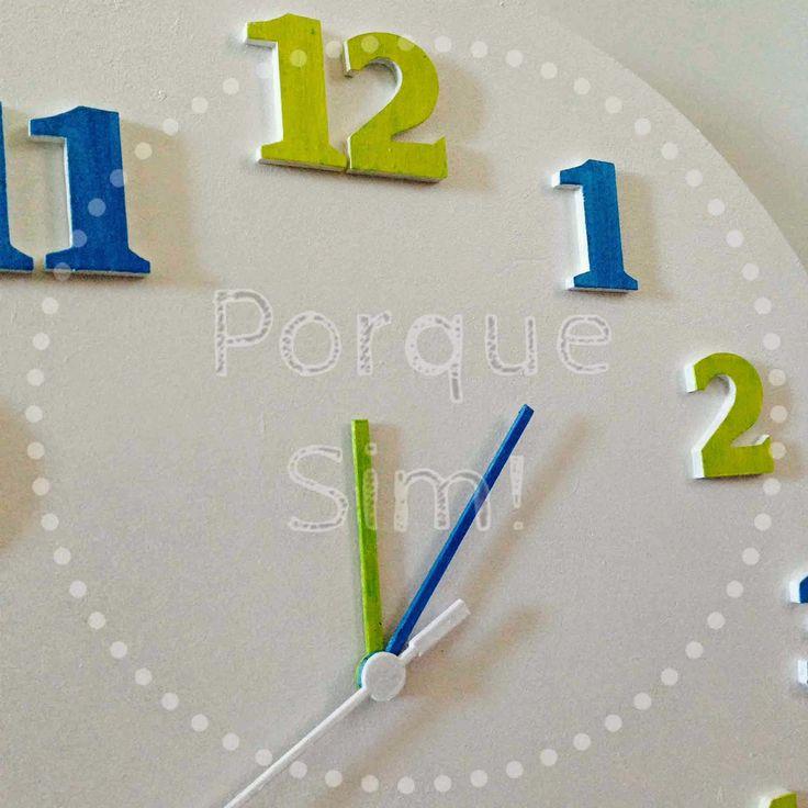 Porque Sim!: Relógio Verde e Azul