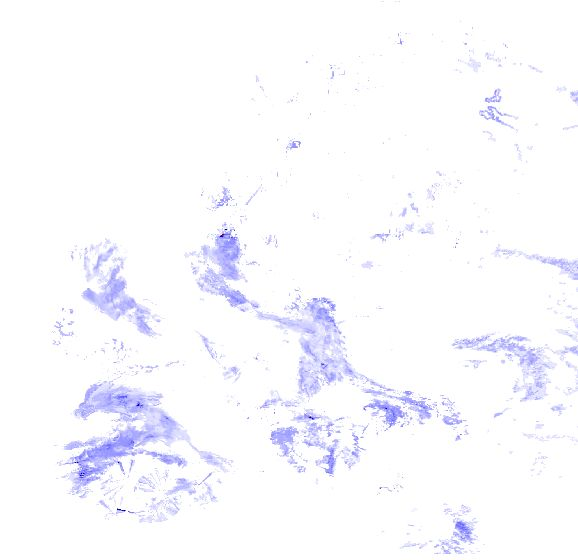 Radar des précipitations France, en temps réel précipitations radar France, la foudre France et snowradar dans France, radar pluie France - source: meteox.com - radar de pluie en Europe