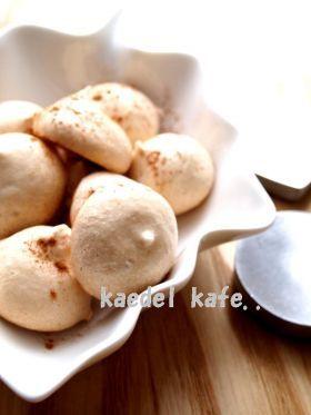 「●シナモン no 焼きメレンゲ●」piko | お菓子・パンのレシピや作り方【corecle*コレクル】