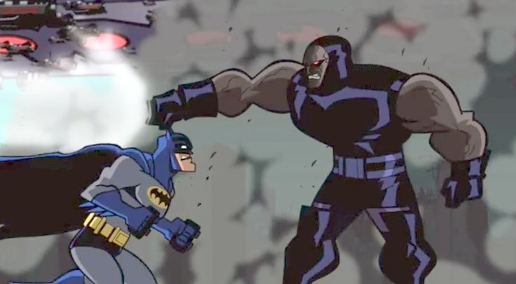 "Batman vs Darkseid ""batman hand to hand combat"" EXCLUSIVE, BATMAN: THE K..."