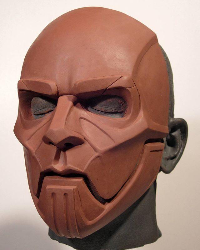 Sid Wilson DJ Starscream mask sculpture for the band Slipknot. #sidwilson #djstarscream #slipknot #mask #sculpture #0 #slipknotmask