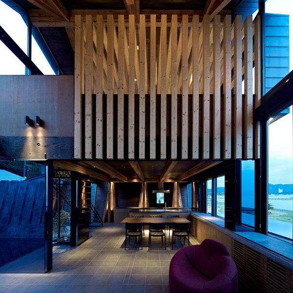Odd Shaped Modern Residence. InnenarchitekturArchitektur  InnenarchitekturModerne ArchitekturJapanische ArchitekturWohnarchitekturHaus  ...