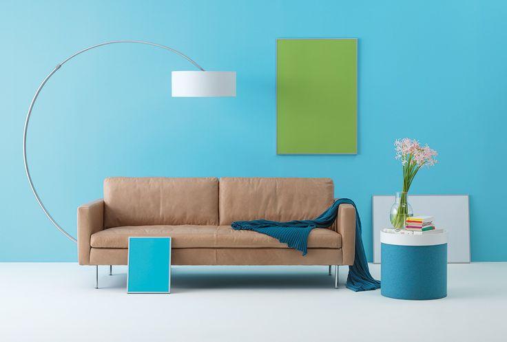 coolness pur das buster sofa mit dem sanften braunen. Black Bedroom Furniture Sets. Home Design Ideas