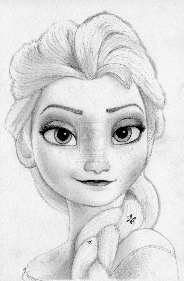 Elsa Frozen Disney Sketches | Frozen's Elsa- The Cold Never Bothered Me Anyway by julesrizz
