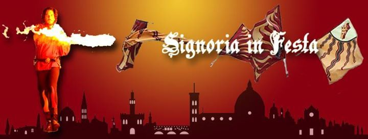 Signoria in Festa 2016 - Rinascimento a Firenze  If you want to go back to the period of Lorenzo il Magnifico don't lost this event in Florence Giardino del Lippi on October 1st and 2nd
