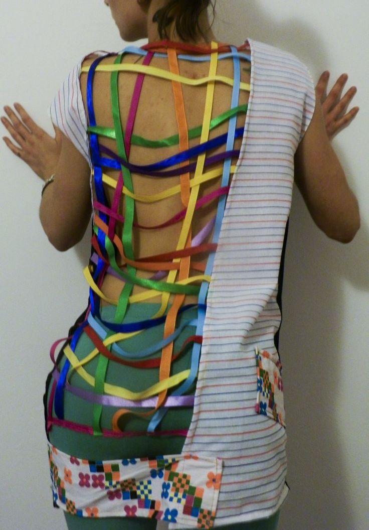 RECYCLING Tunic DRESS (proj. MisZmASz recycling fashion), do kupienia w DecoBazaar.com  www.facobook.com/miszmaszfashion